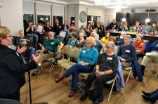 Feb 4th Complete Streets Transportation Meeting Packed