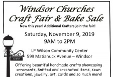 2019 Churches Craft Fair